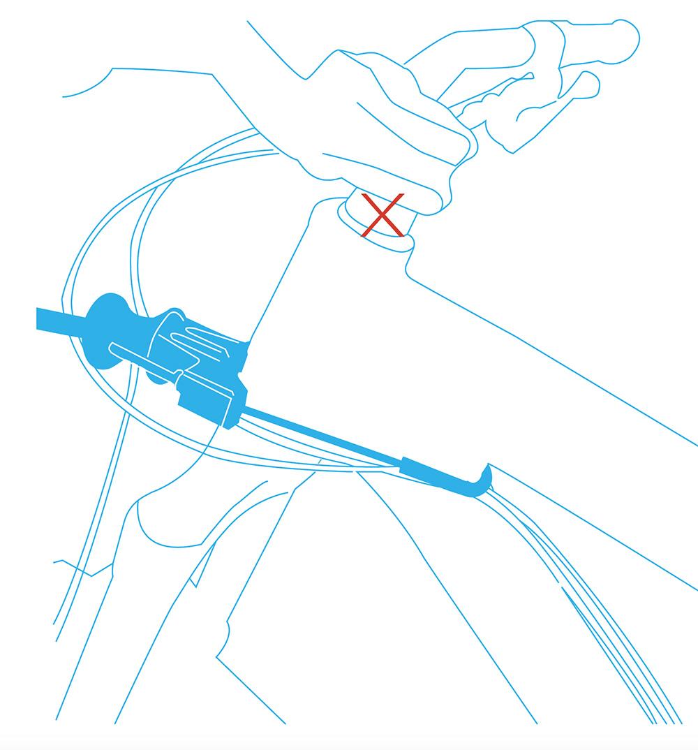 Installation barre cani-VTT Bikejor Max UL